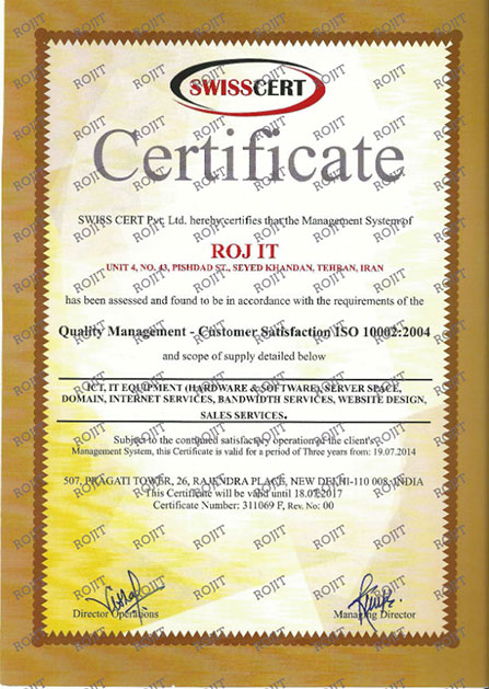 RojIT ISO 10002